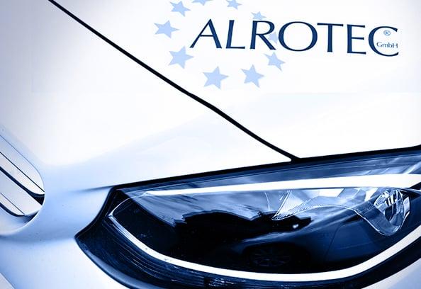 ALROTEC-Firmenwagen für Vor-Ort-Service